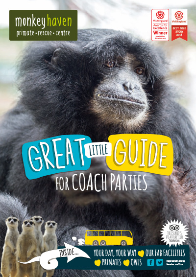 Coach visitor guidebook cover